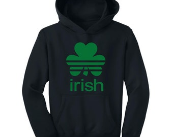Sports Shamrock - St. Patrick's Day - Youth Hoodie