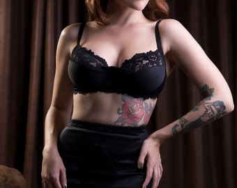 Retro Noir Girdle