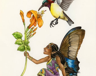 Indian Faerie / Indian Fairy