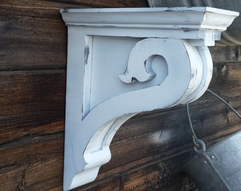 Corbels-(K) set of 2, Vintage look, new and reclaimed wood