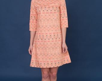 60's inspired dress