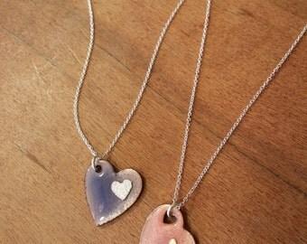 Adorable Heart Necklaces