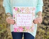 Spiral Notebook - Monogram Notebook - Gifts for her - Stationery - Prayer Journal - Teacher Gifts - School Supplies