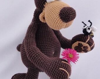 Amigurumi Crochet Pattern - Bernard the Bear