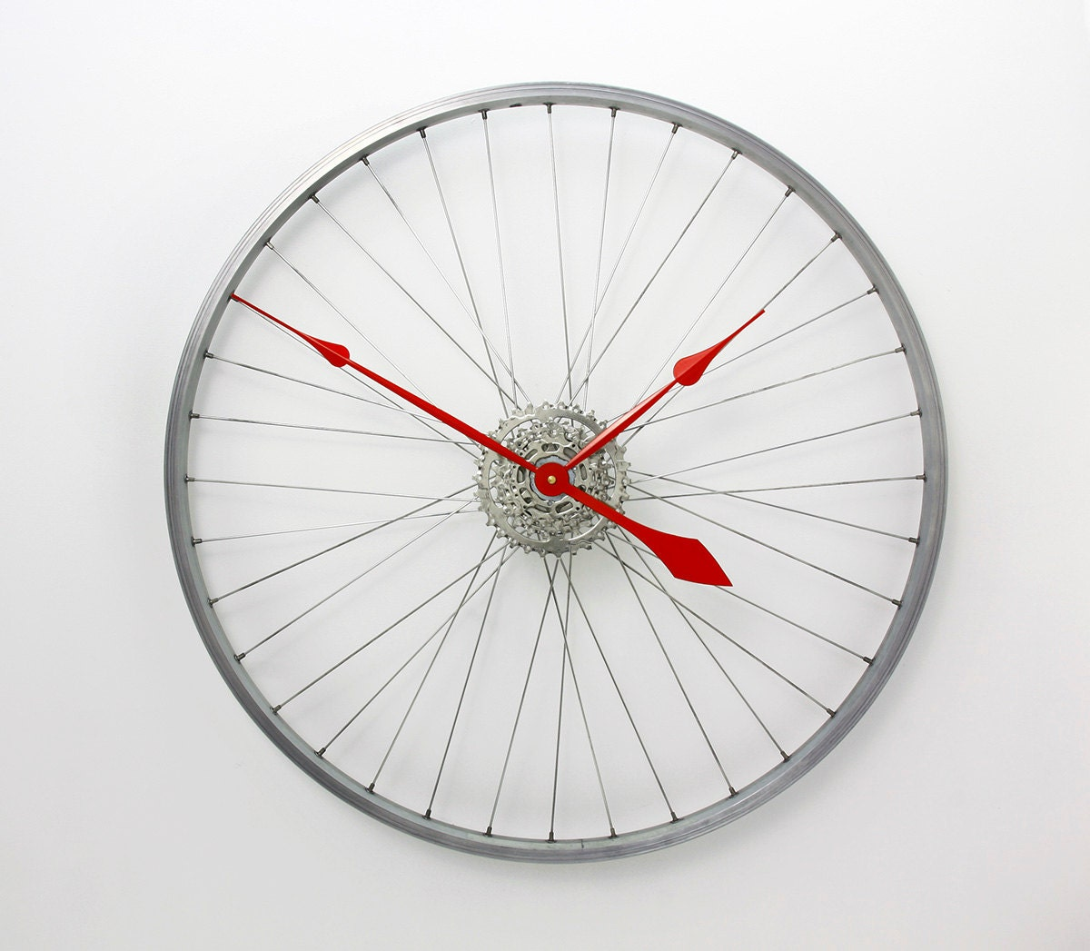large wall clock custom colours bicycle wheel clock bike wheel clock bicycle clock