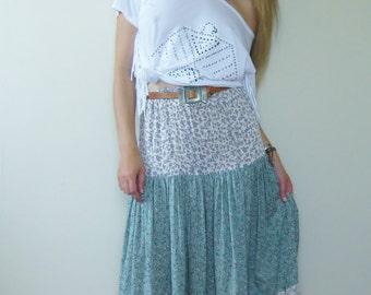 Tiered Gypsy Skirt | Tiered Skirt | Gypsy Skirt | Long Tiered Skirt | Long Skirt | Tiered Maxi Skirt | Maxi Skirt |  Boho Skirt | Spanish