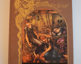 SPELLS AND BINDINGS from the Enchanted World series - a vintage Time-Life book with amazing old-school illustrations