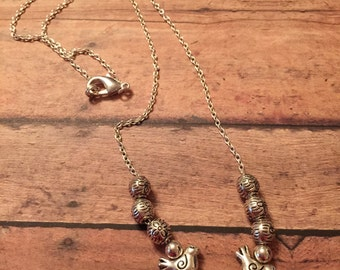 Birds-N-Beads Necklace