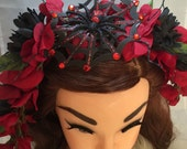 Black Widow Tiki Crown