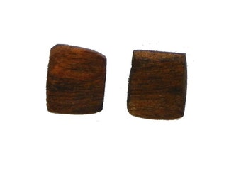 Tree Root Square Earrings #2