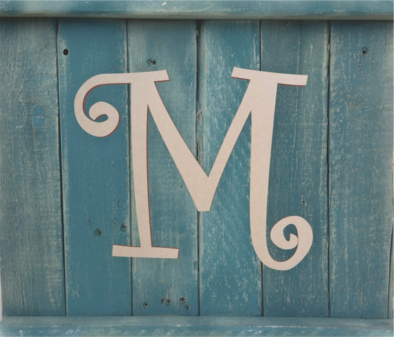 wooden letters for boys room wooden monogram letter for front door wooden letter for above. Black Bedroom Furniture Sets. Home Design Ideas
