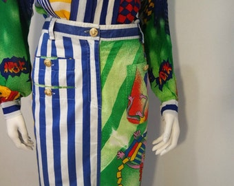 Authentic vintage Gianni Versace Skirt