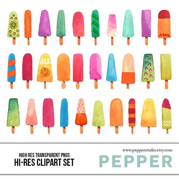 Summer Ice Cream Wallpaper: Popsicle Illustrations Summer Ice Cream Doodles Hand Drawn