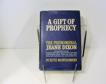 A Gift of Prophecy The Phenomenal Jeane Dixon By Ruth Montgomery 1965 Hard Back