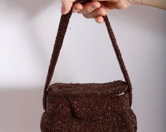 1940s Copper Charlet Bag