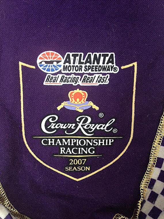 Crown Royal 2007 Atlanta Motor Speedway Racing Bag