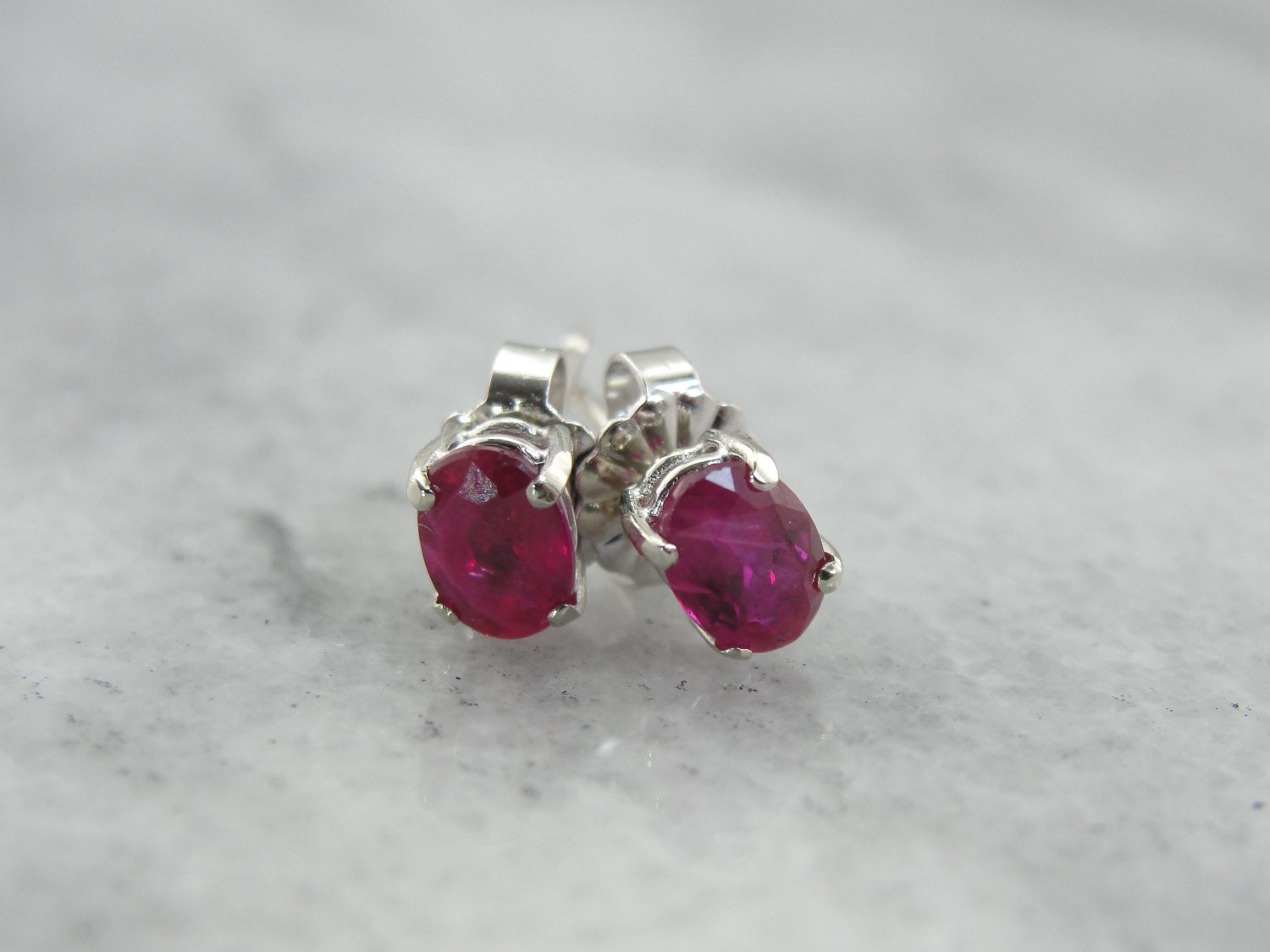 ruby earrings for babies july baby ruby stud earrings m9t76t d 5884