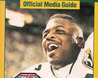 Vintage Green Bay Packers Official Media Guide 1994