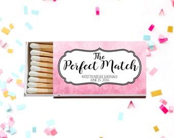 Wedding Matches, Perfect Match, Personalized Matches, Wedding Favors, Custom Matches, Wedding Matchbox, Wedding Decor, Wedding Sparklers