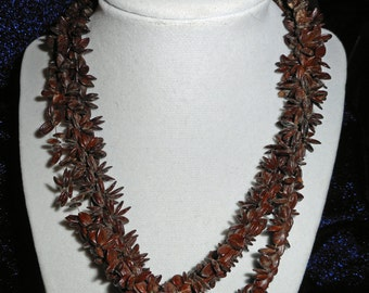 Vintage Seed Necklace (B 533)