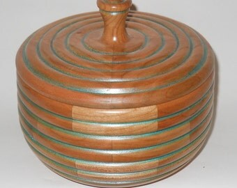 Lidded Cherry Bowl.