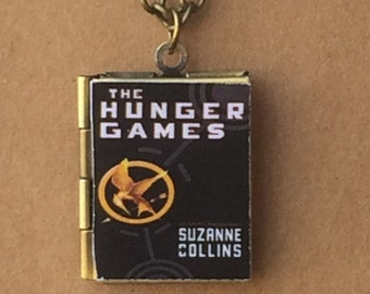 Hunger Games, The - Book Cover Locket