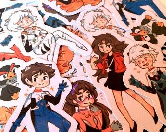 Evangelion Sticker Set