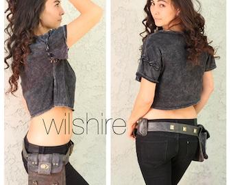 Wilshire Leather Festival Belt Bag Hip Fanny Pack