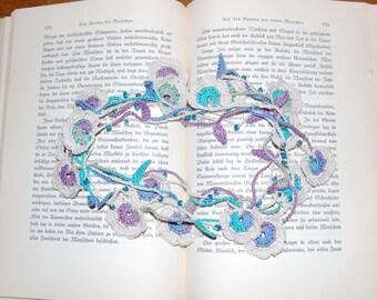 Crochet Flower Lariat
