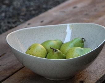 Vintage Speckled Porcelean Bowl, Porcelean Bowl, Ceramic Bowl, Crockery, Vintage Kitchenware, Speckled Cream Glaze Bowl, Decorative Bowl