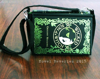 Wicked | Son of a Witch Upcycled Book Purse