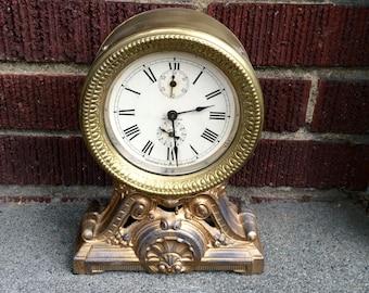 1915 Seth Thomas Long Alarm Mantel Clock
