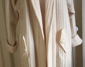 Boyne Valley Weavers Natural Wool Coat
