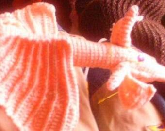 Hand Crocheted Dragon