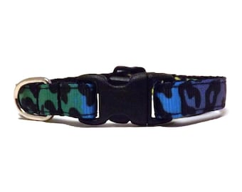 Neon Leopard | Cat Collar with Bell