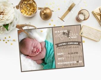 Little Deer - Birth Announcement