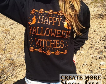 Happy Halloween Witches. Happy Halloween.