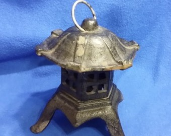Cast Iron Asian Candle Holder
