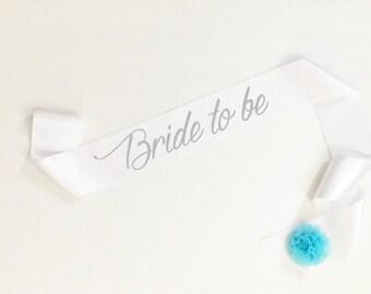 Bride to be sash, Future Mrs Sash, Bridesmaid, Maid of honor, Team Bride, Bride Sash. bachelorette party sash.bridal party sash