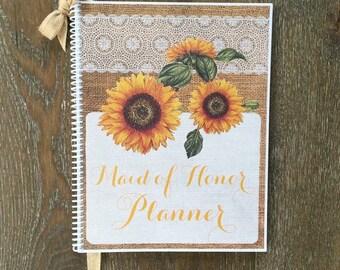 Maid of Honor Wedding Planner Book Wedding Organizer Bride