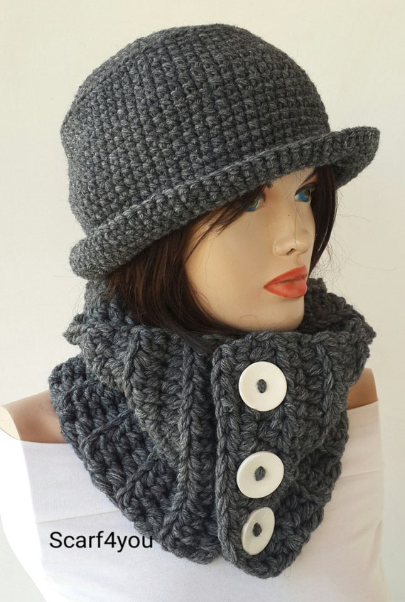 knit hats scarf set womens accessories winter