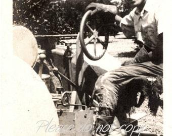 Vintage Photo ~ the handsome farmer