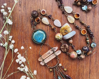 Earthy Garb Necklace