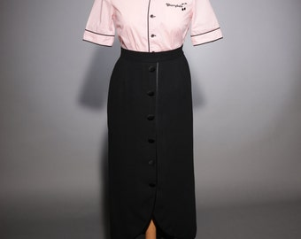 """Blouse pink Style """"50"""