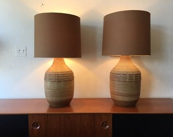 Pair of Bob Kinzie Lamps