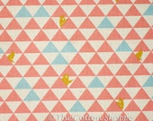 Kokka Bears Fabric ~ Kokka Fabric ~ Peach Bears Fabric ~ Japanese Fabric ~ Canvas Fabric ~ Linen Fabric ~Cotton Fabric ~Home Decor Fabric