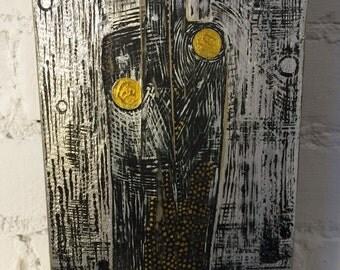 Original Abstract Block Art