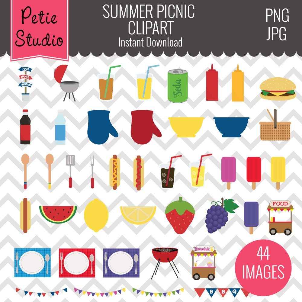 spring picnic clipart - photo #40