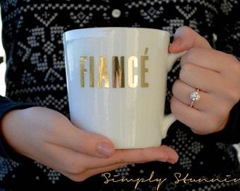 Fiance Mug, Engagement mug, Future Mrs, Bride gift, engagement gift, Feyonce, bride to be, Coffee Mug, Tea Mug.