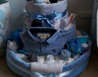 Large Nappy Cake